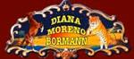 Logo Diana Moreno-Rex Bormann - Cirques français