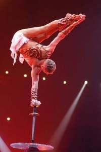 Dimitry Proudnikov par Yvon Kervinio - photographe et éditeur de Cirque