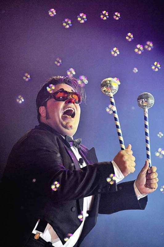 Totti par Yvon Kervinio - photographe et éditeur de Cirque