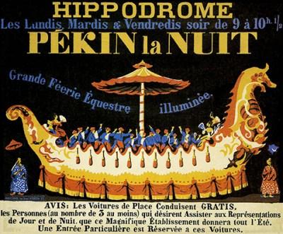 Pékin la nuit à l'Hippodrome - Hippodromes parisiens