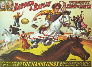 Affiche de Poodles Hanneford