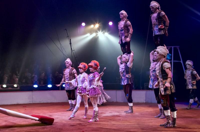 Les Sokolov - photo Jean Pierre Jerva - génie du Cirque
