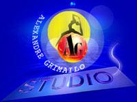 Logo de AG Studio - génie du Cirque