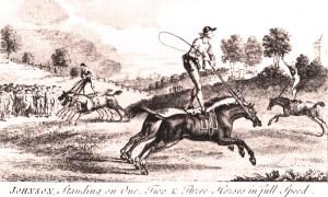 Thomas Johnson - Voltigeurs à cheval