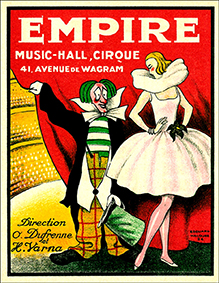 L'Empire – Music-Hall Cirque