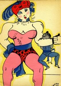 Serge : la femme colosse - poète des étoiles