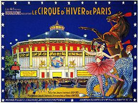 Cirque d'Hiver – Direction des 4 frères Bouglione