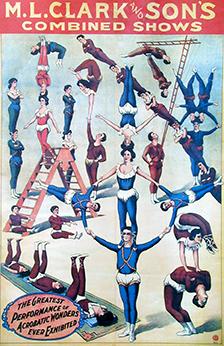 Gymnasts - Circus Dictionary
