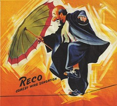 A hobo : Reco - Circus Dictionary