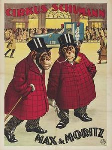 Chimpanzee : Max & Moritz - Circus Dictionary