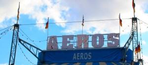 Le chapiteau Aeros - Cirques européens