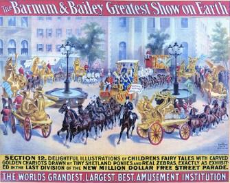 Street parade - Circus Dictionary