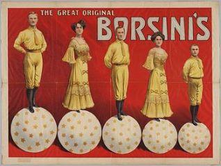 Globe act : Borsini -Circus Dictionary