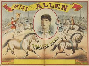 Jockey miss Allen - Circus Dictionary