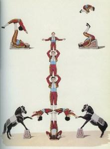 La troupe Kremo - Icariens