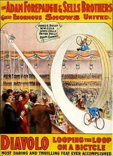 Looping the loop Diavolo - Circus Dictionnary