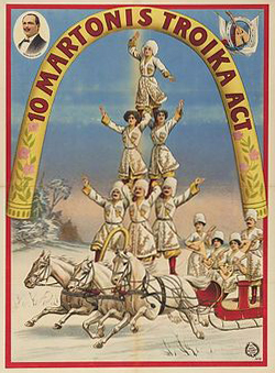 Troika : La troupe Martonis - Circus Dictionary