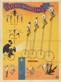 Unicycle act - Narrow - Circus Dictionary
