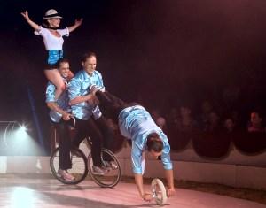 Wheelbarrow : Les Rech Junior - Circus Dictionary