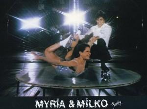 Myria et Milko - Patineurs à roulettes