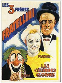 Fratellini, la trinité du rire
