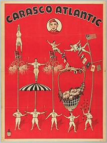 Perchistes au Cirque