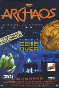 Archaos - Définition Cirque