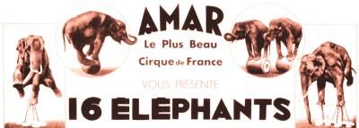 Amar et ses éléphants - Eléphants