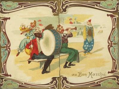Illustration Au bon Marché - Foottit et Chocolat