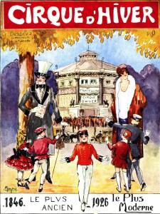 Le Cirque d'Hiver de Paris - Définition Cirque