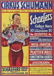 Schaeffer au Cirque de Copenhague
