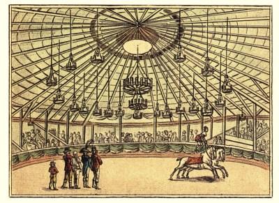 Intérieur du Cirque Franconi - Antonio Franconi