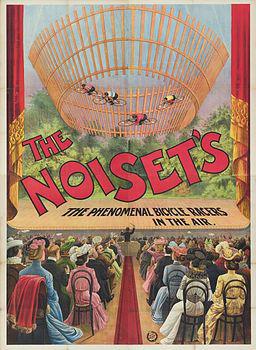 La troupe Noiset - Archives Arlequin