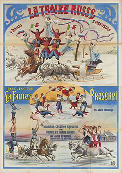 La troupe Proserpi - Archives Arlequin