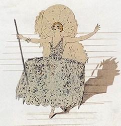 Barbette, exquise trapéziste