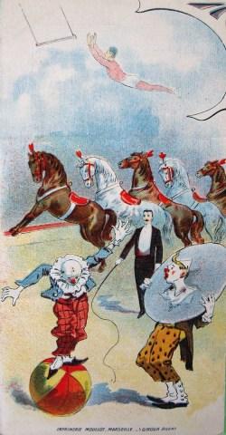 Programme du Cirque Bureau 1911 - Archives Arlequin