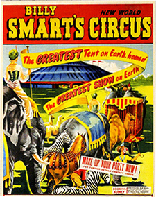 Billy Smart's New World Circus – direction Billy Smart Senior