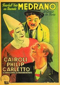 Trio Cairoli à Medrano - Charlie Cairoli