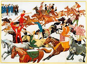 Affiche de Cirque Friedländer - web