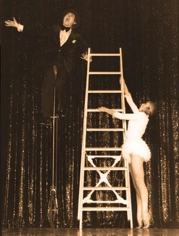 Allan Kemble et sa partenaire Christine - Kemble