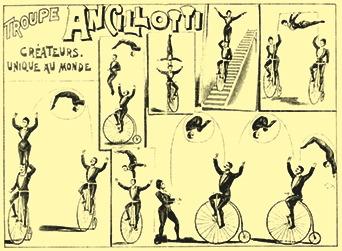 La troupe Ancillotti - cyclistes