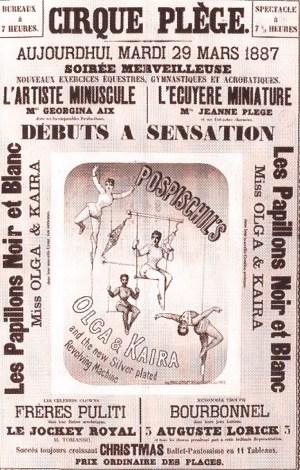 Cirque Plège en 1887 - Antoine Plège