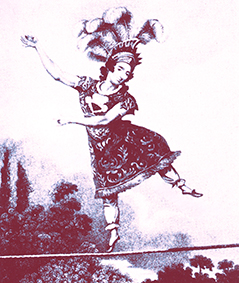 Madame Saqui, une vie sur la corde