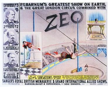 Miss Zeo - Phineas T. Barnum