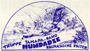 La troupe Hundadze - acrobates à cheval