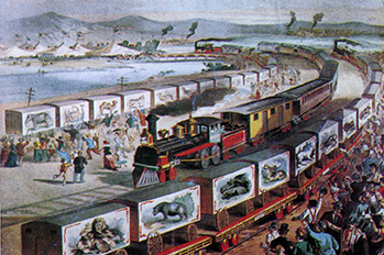 Le train de Phineas T. Barnum
