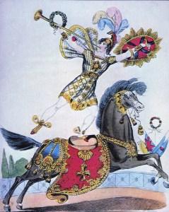 Andrew Ducrow - acrobates à cheval