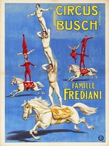 Les Frediani - acrobates à cheval