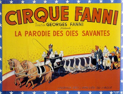 Les oies du Cirque Fanni - parades