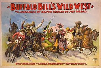 Buffalo Bill - les cavaliers étrangers